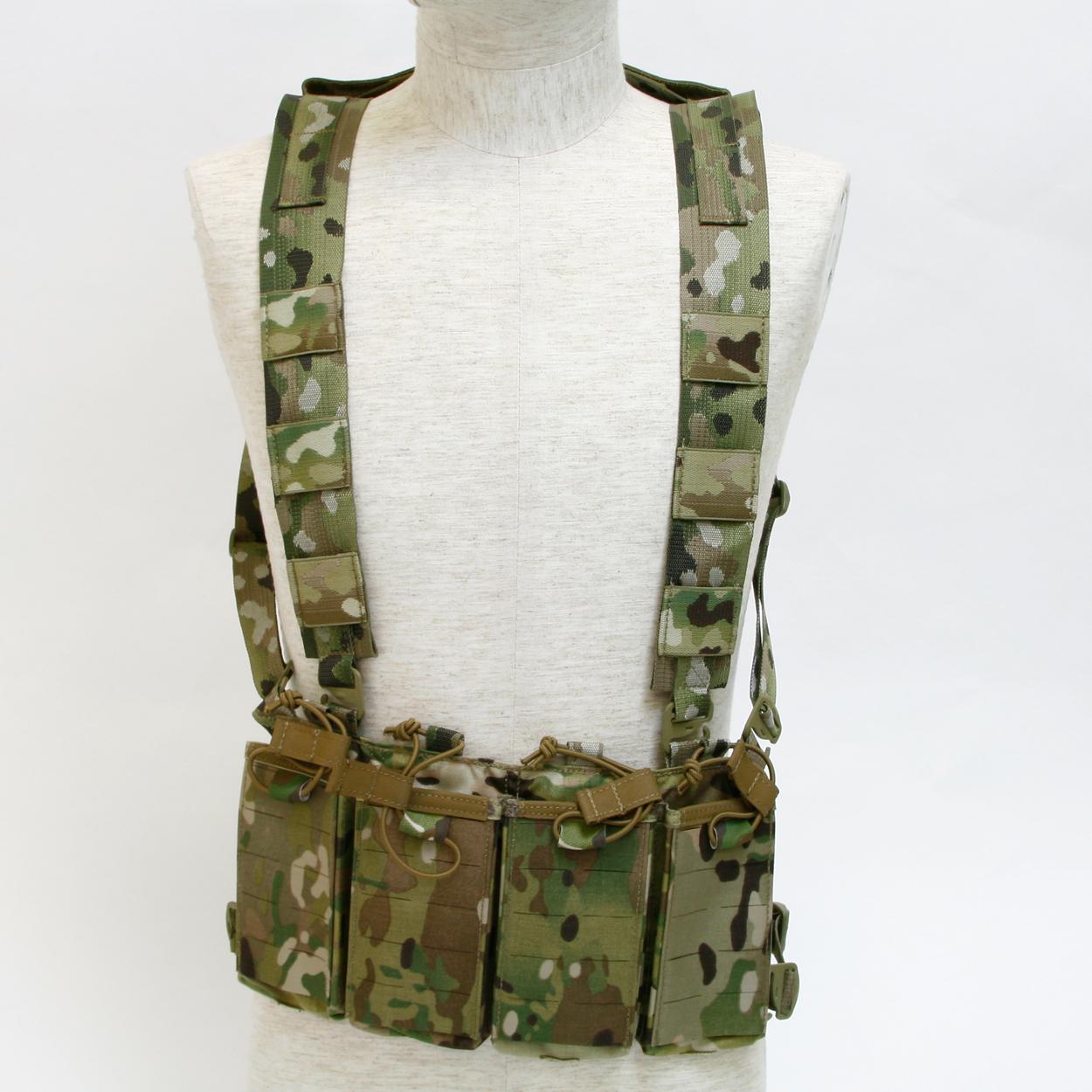 M4/AK Chest Rig 6/12 MC