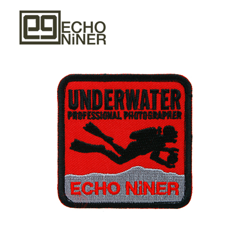 UNDERWATER PROFESSIONAL PHOTOGRAPHER PATCH