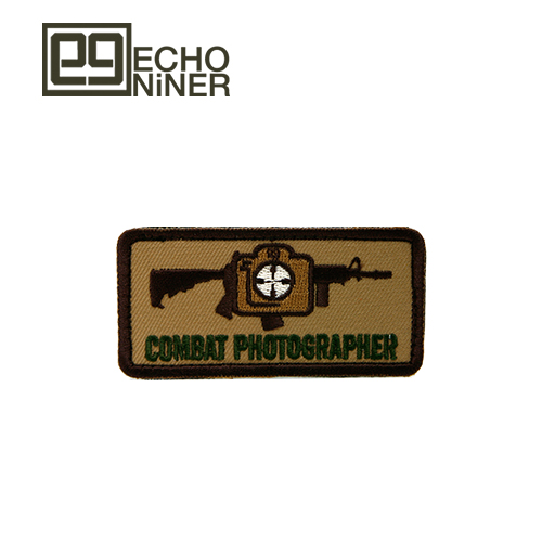 COMBAT PHOTOGRAPHER PATCH