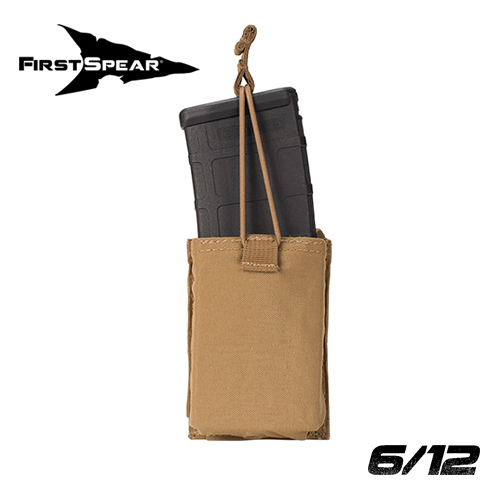 M4 Magazine Pocket, Speed Reload, Single 6/12 Coyote