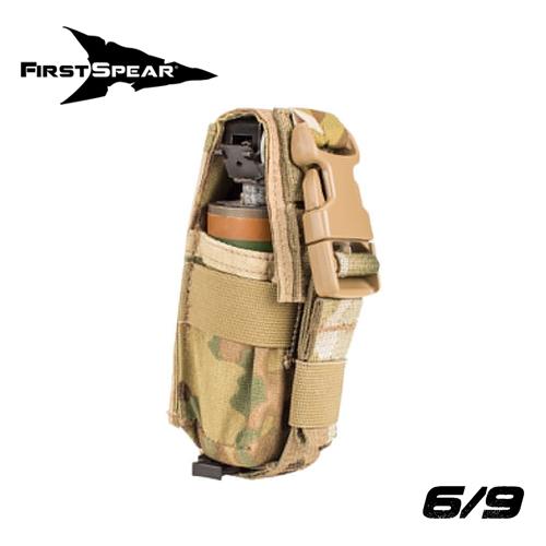 Silent Flashbang Pocket, Single 6/9 - Coyote