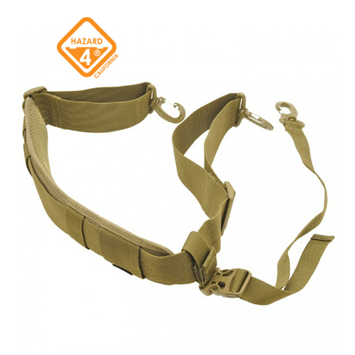 Padded Shoulder Strap w/ Stabilizer Strap - Coyote