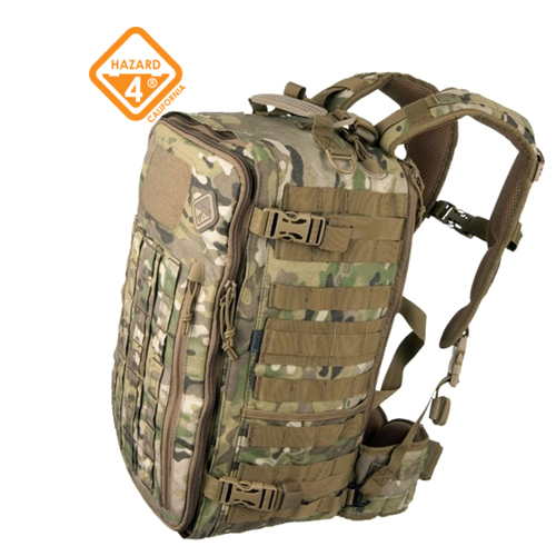 Officer Front/Back Slim Organizer Backpack MultiCam