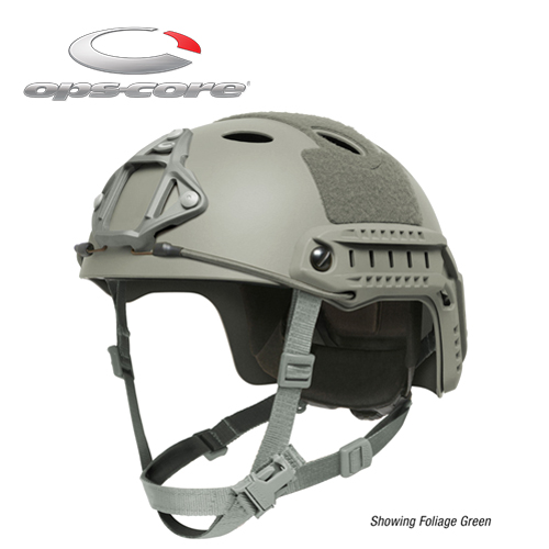 FAST CARBON HIGH CUT HELMET Foliage Green