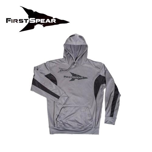 HoodieSweatshirt GRY/BK S