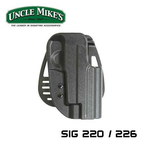 アンクルマイク SIG220/226 ホルスター右