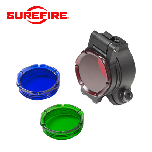 "FM70 - Filter Assembly for 1.125"" or 1"" Bezels - Red, Blue, Green, and Black Out Lenses Included"