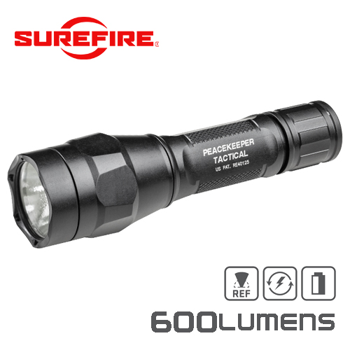 P1R Peacekeeper Tactical Rechargeable Ultra-High Single-Output LED