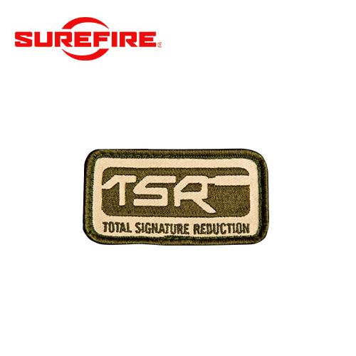 SF TSR ロゴ パッチ OD / TN[生産終了・在庫限り]