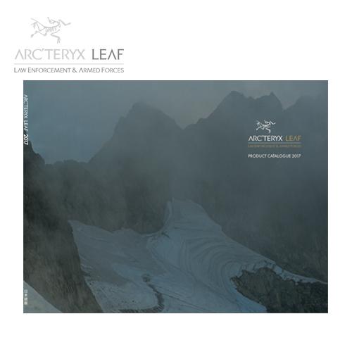 Arc'teryx leaf-2017 日本語カタログ