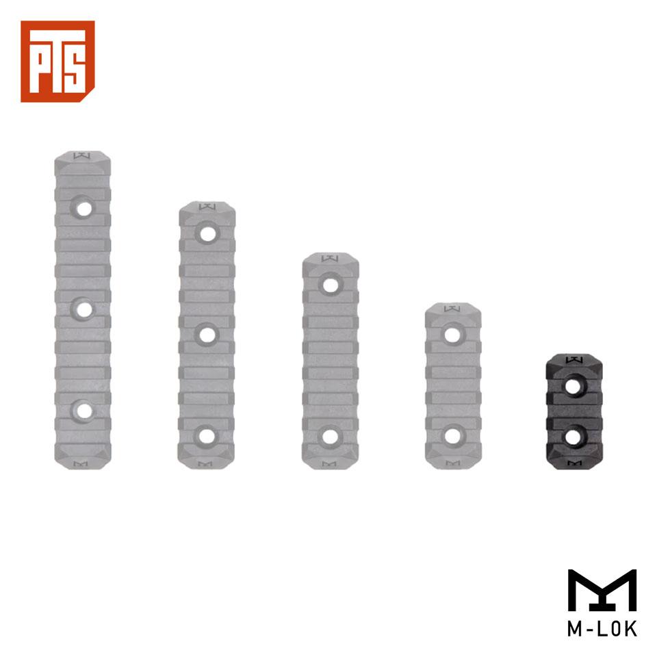 PTS ENHANCED RAIL SECTION (M-LOK) 3 SLOTS