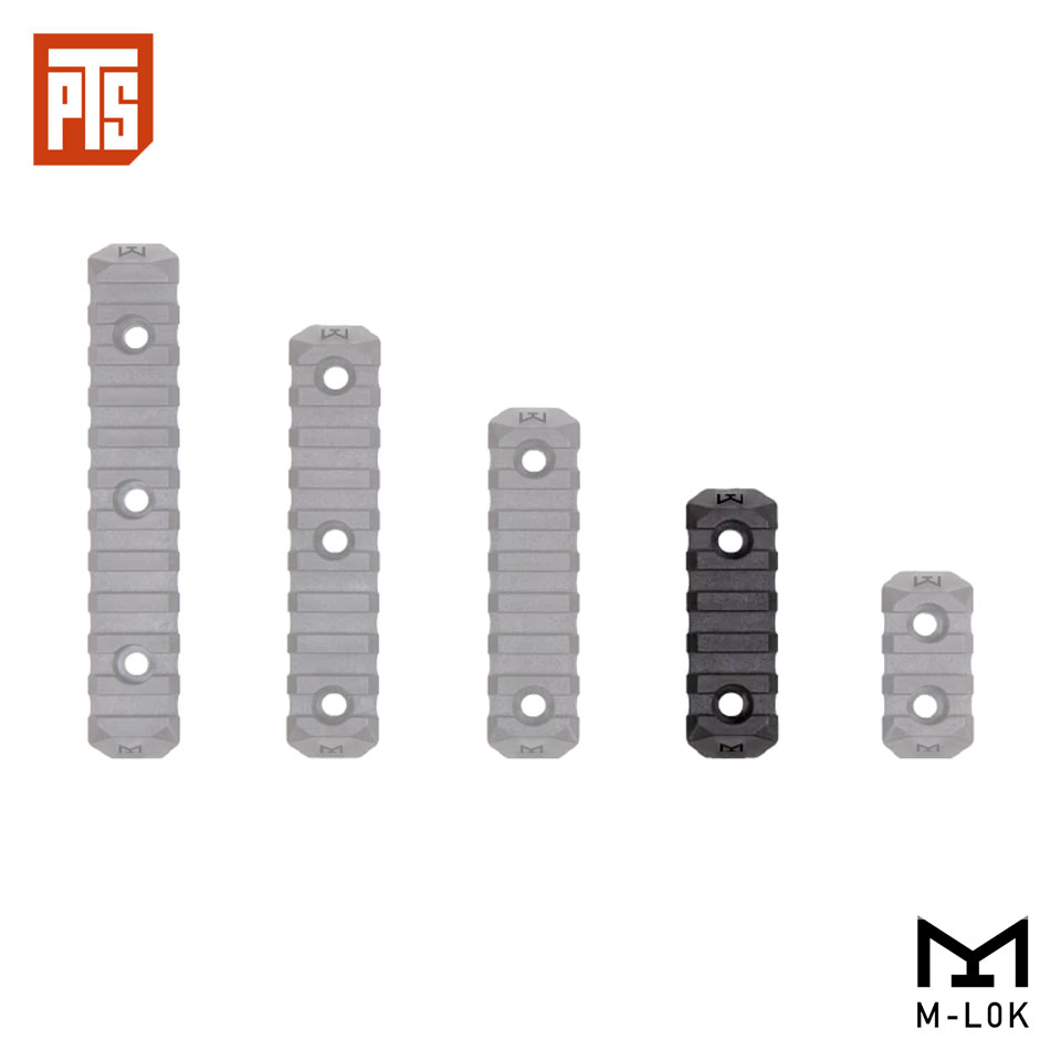 PTS ENHANCED RAIL SECTION (M-LOK) 5 SLOTS
