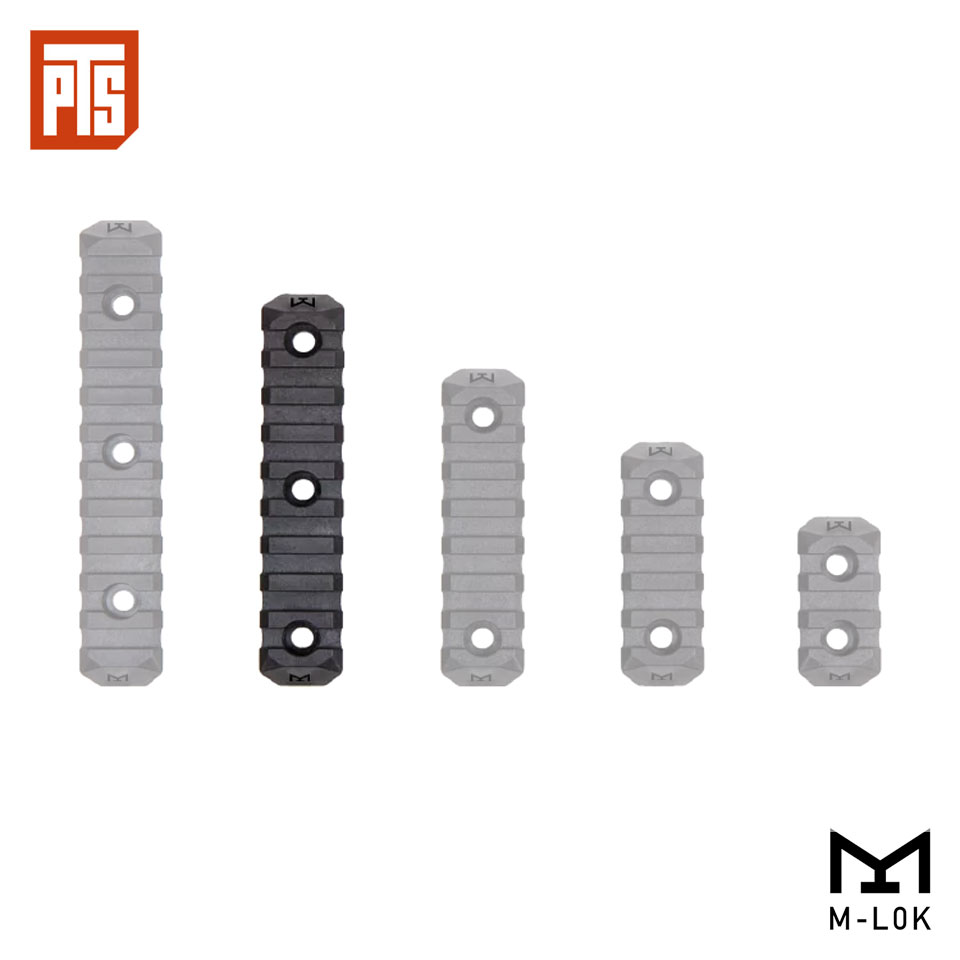PTS ENHANCED RAIL SECTION (M-LOK) 9 SLOTS