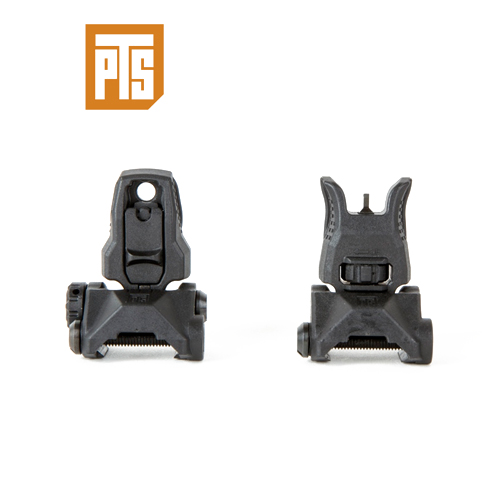 PTS ENHANCED POLYMER BACK UP IRON SIGHT