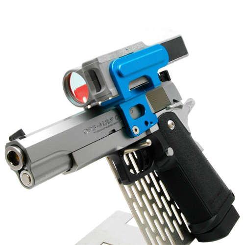 90degree C-More Mount for Hicapa/1911 - Blue
