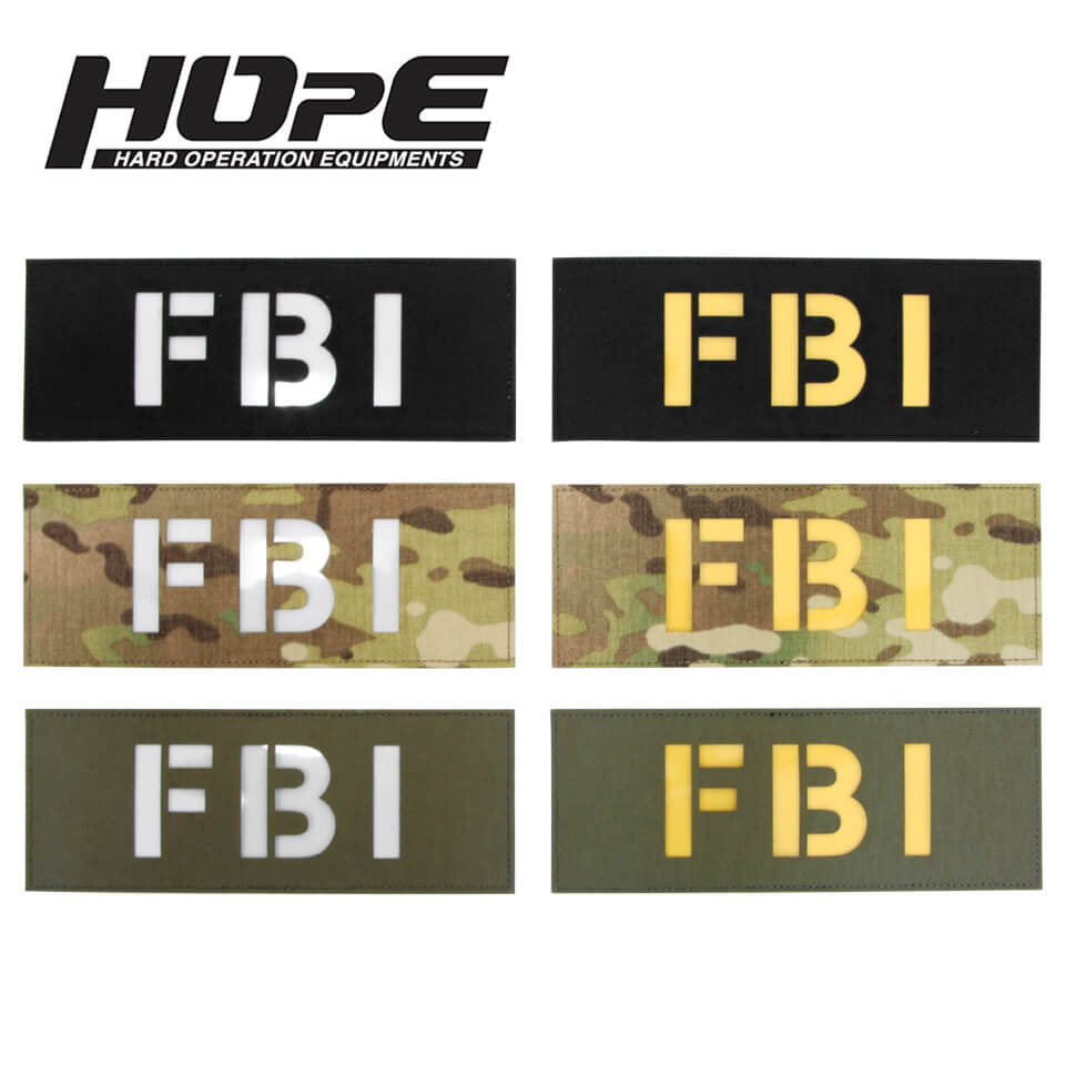 Patch 3x8-FBI