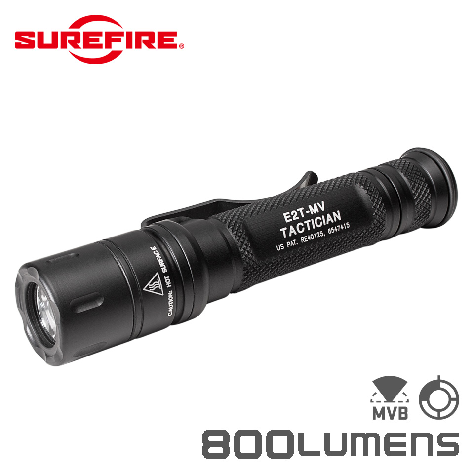 TACTICIAN - Dual-Output MaxVision Beam LED Flashlight