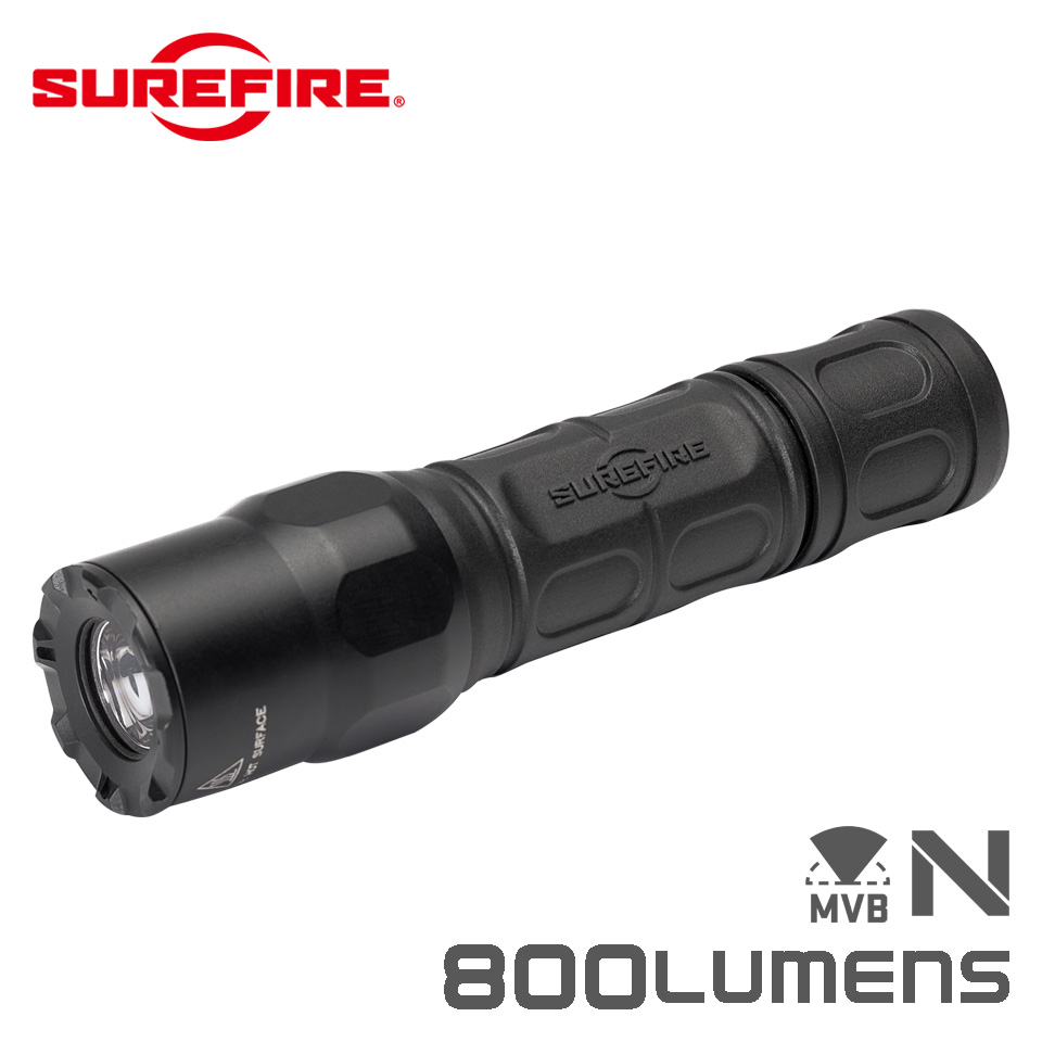 G2X WITH MAXVISION - Dual Output LED Flashlight with MaxVision