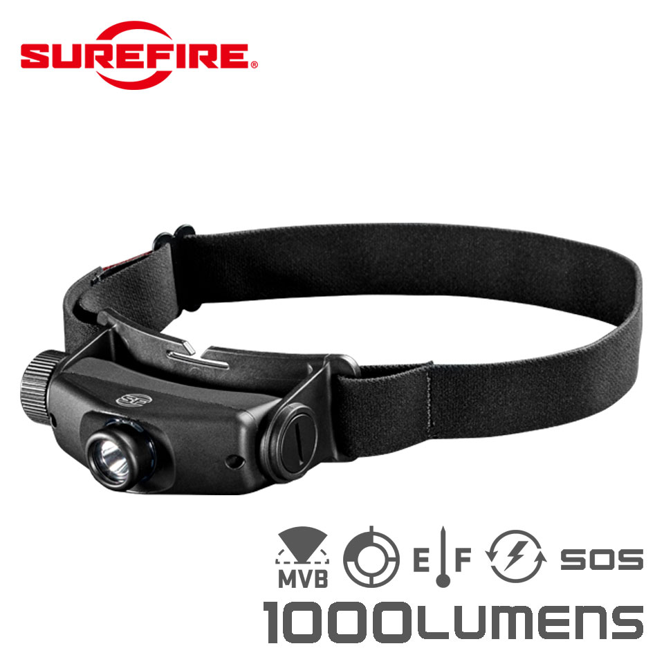 SUREFIRE MAXIMUS - Rechargeable Variable-Output LED Headlamp