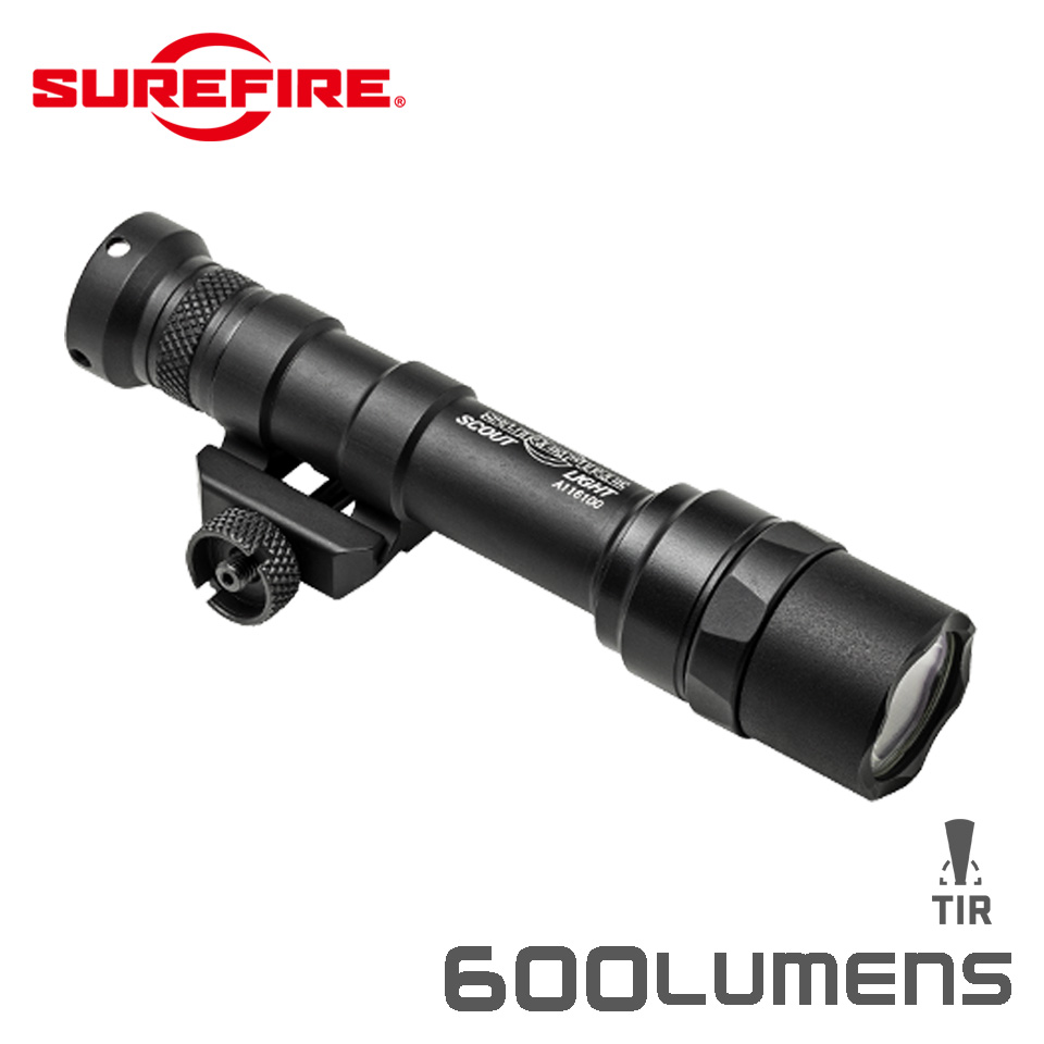 M600 ULTRA SCOUT LIGHT - LED WeaponLight Tailcap Switch Only