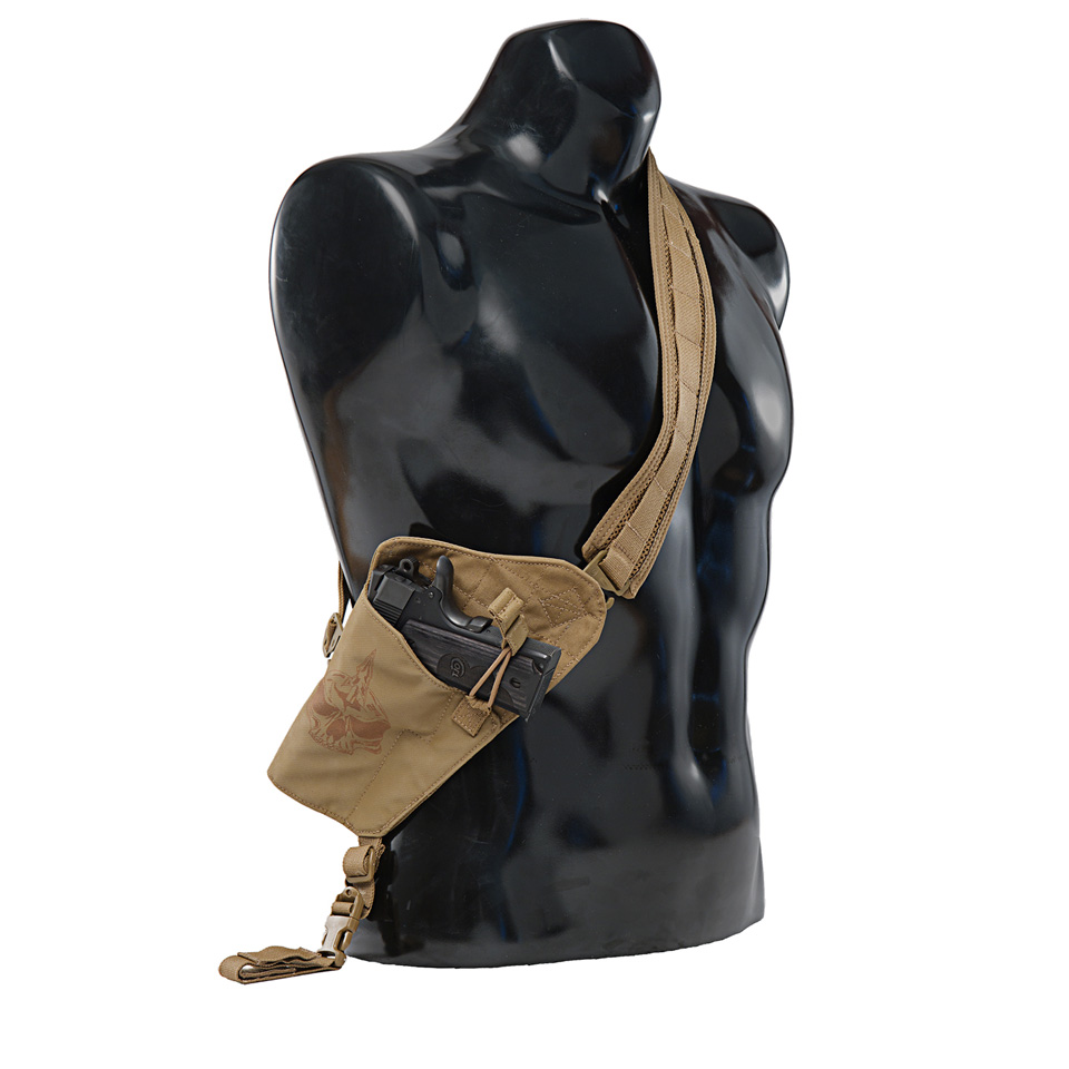The Walt Torso Holster Left Handed Coyote