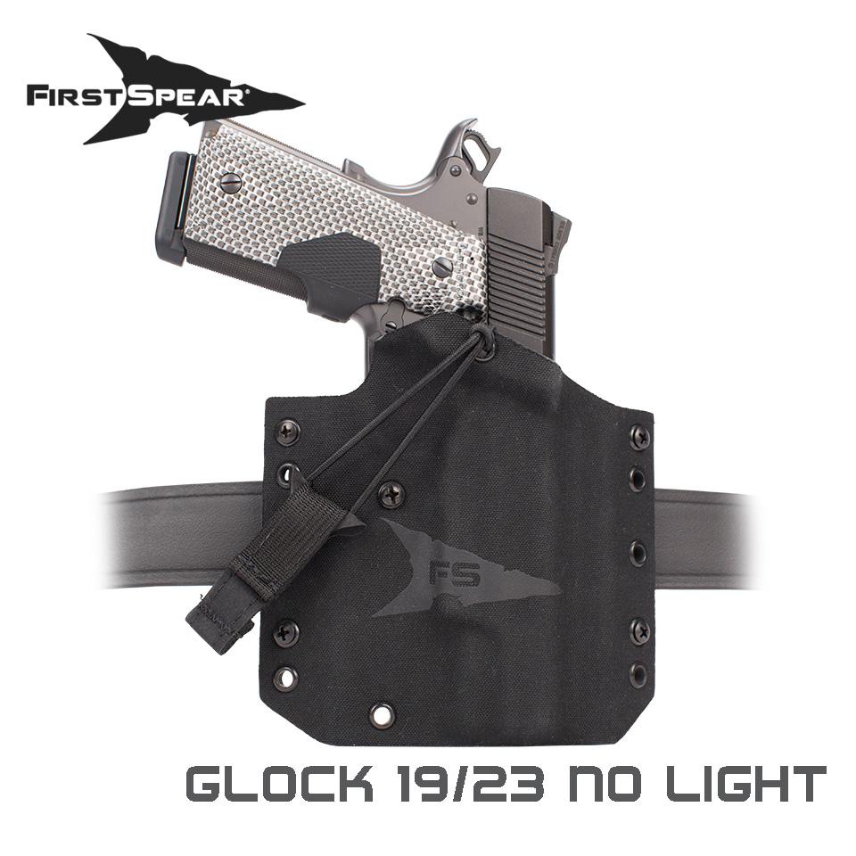 Glock SSV Pistol Holster - Glock 19/23 No Light Right-handed