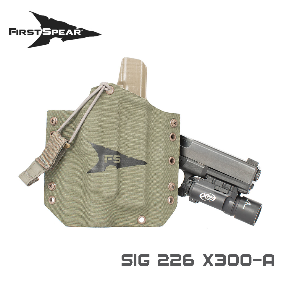 SSV Pistol Holster, Weapon Light - Sig 226 X300U-A