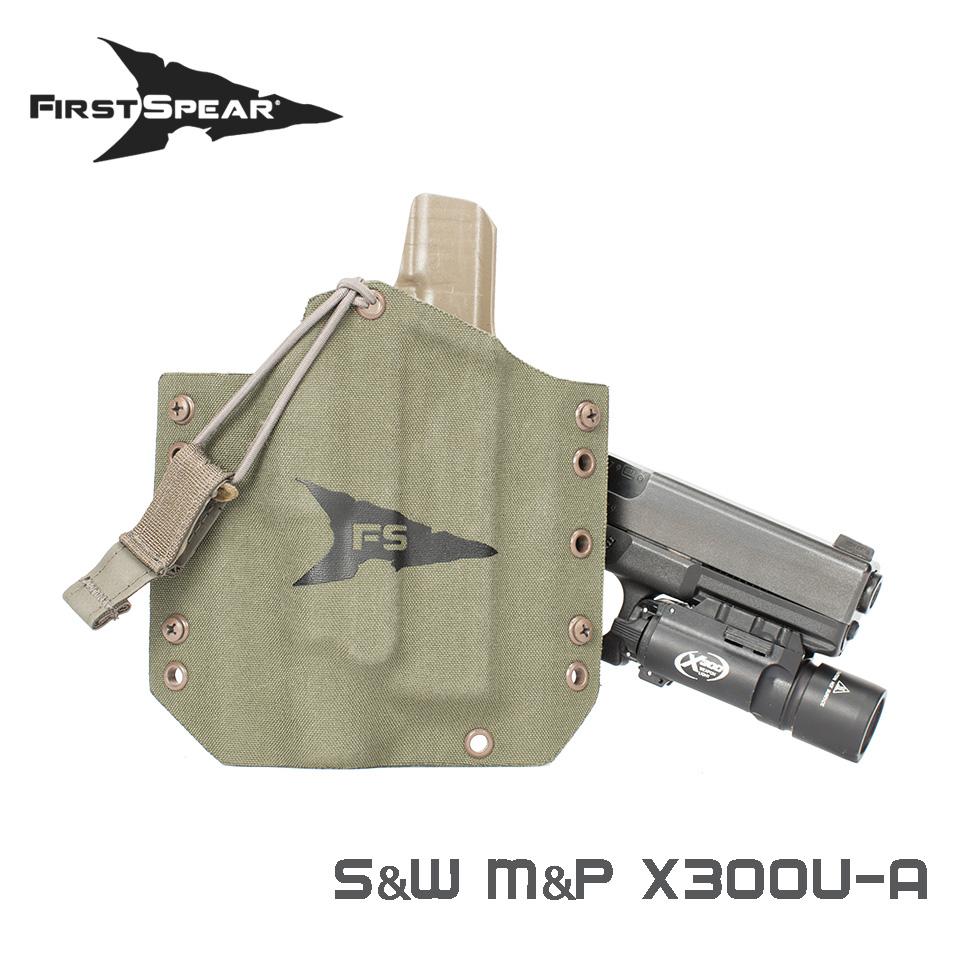 SSV Pistol Holster, Weapon Light - S&W M&P Duty 9/40 X300U-A