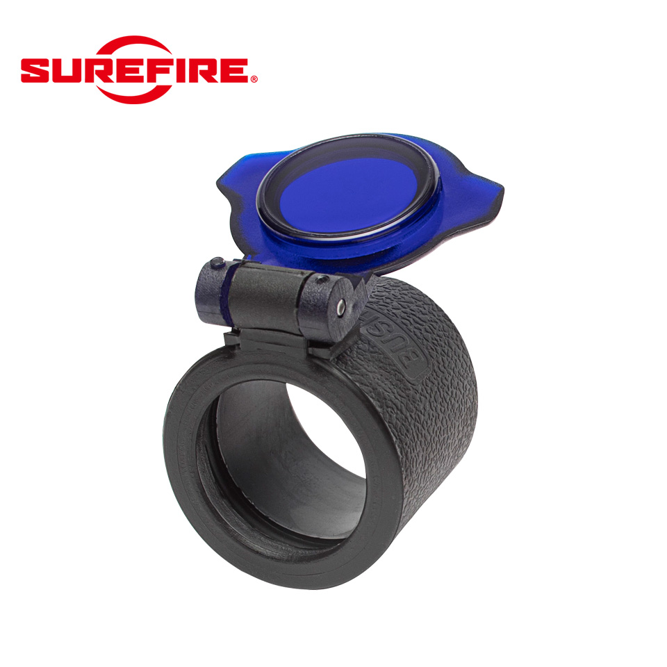 SLIP ON FILTER FOR 1 INCH FLASHLIGHT BEZELS BLUE