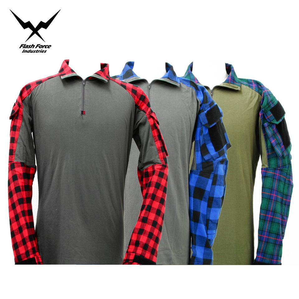 FFI GEN3 TAC Lumberjacks Shirt - Flannel