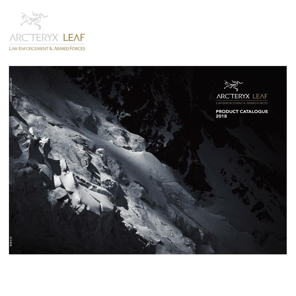 Arc'teryx leaf-2018 日本語カタログ