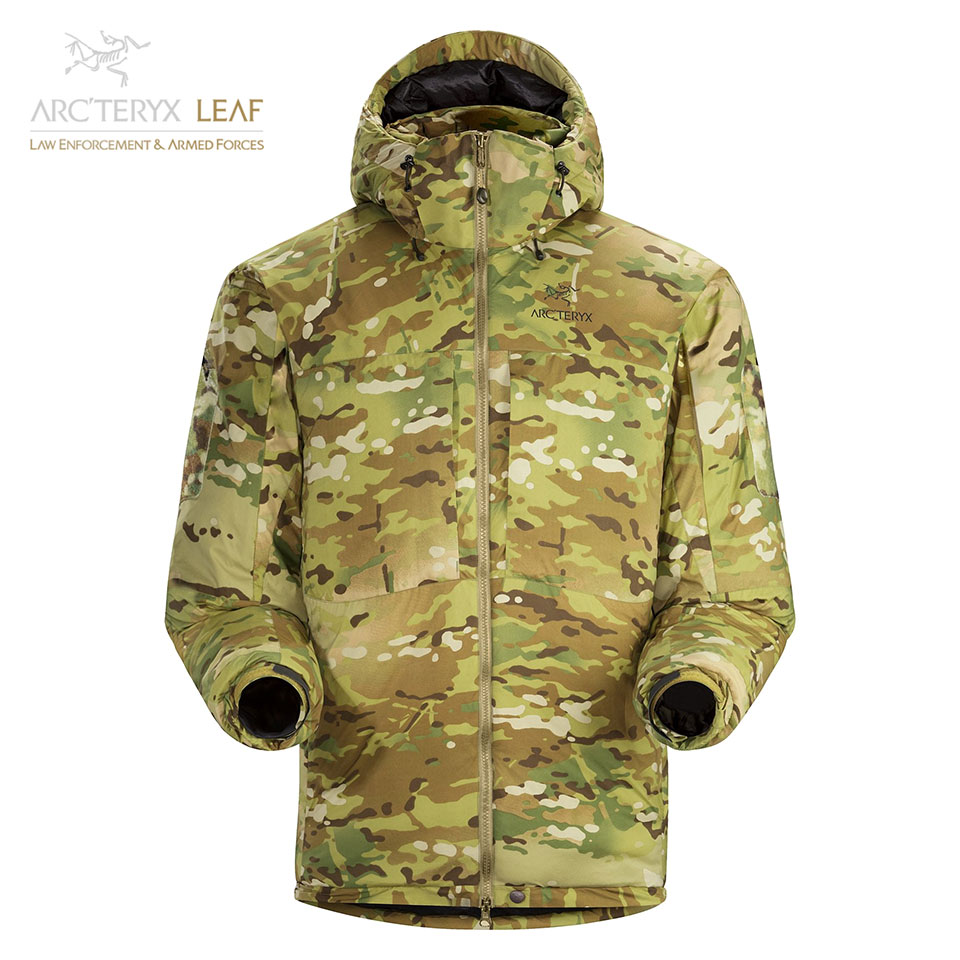 COLD WX JACKET SV MULTICAM