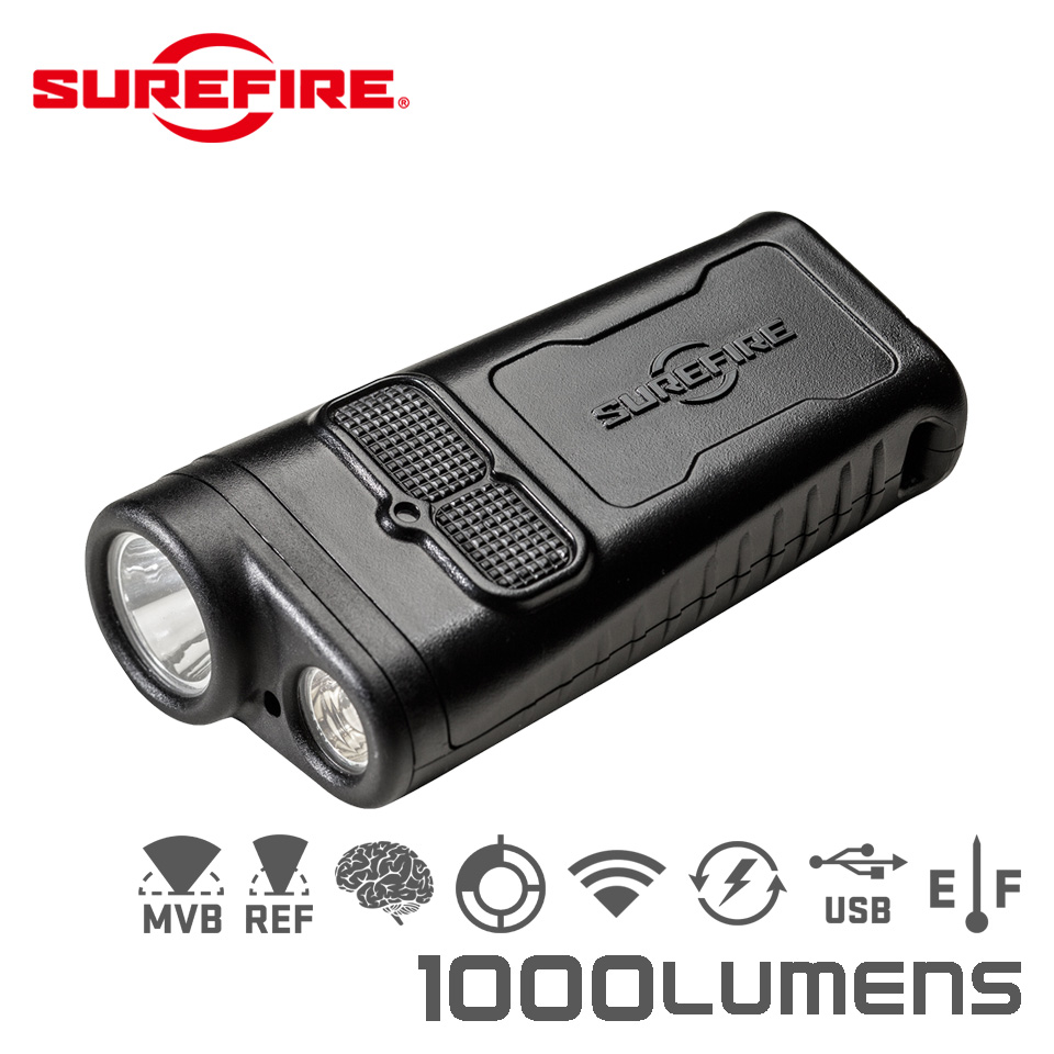 GUARDIAN - Dual-Beam Rechargeable Ultra-High LED Flashlight