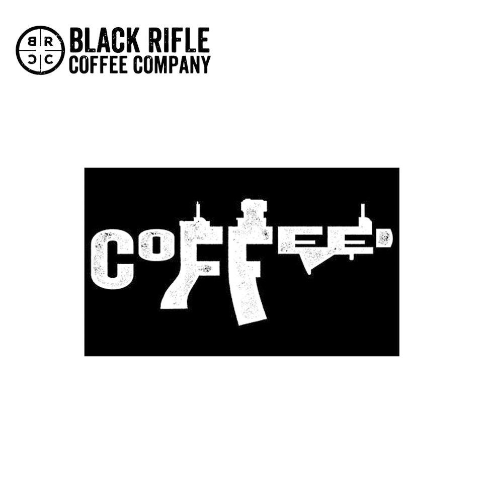 AR COFFEE LOGO STICKER