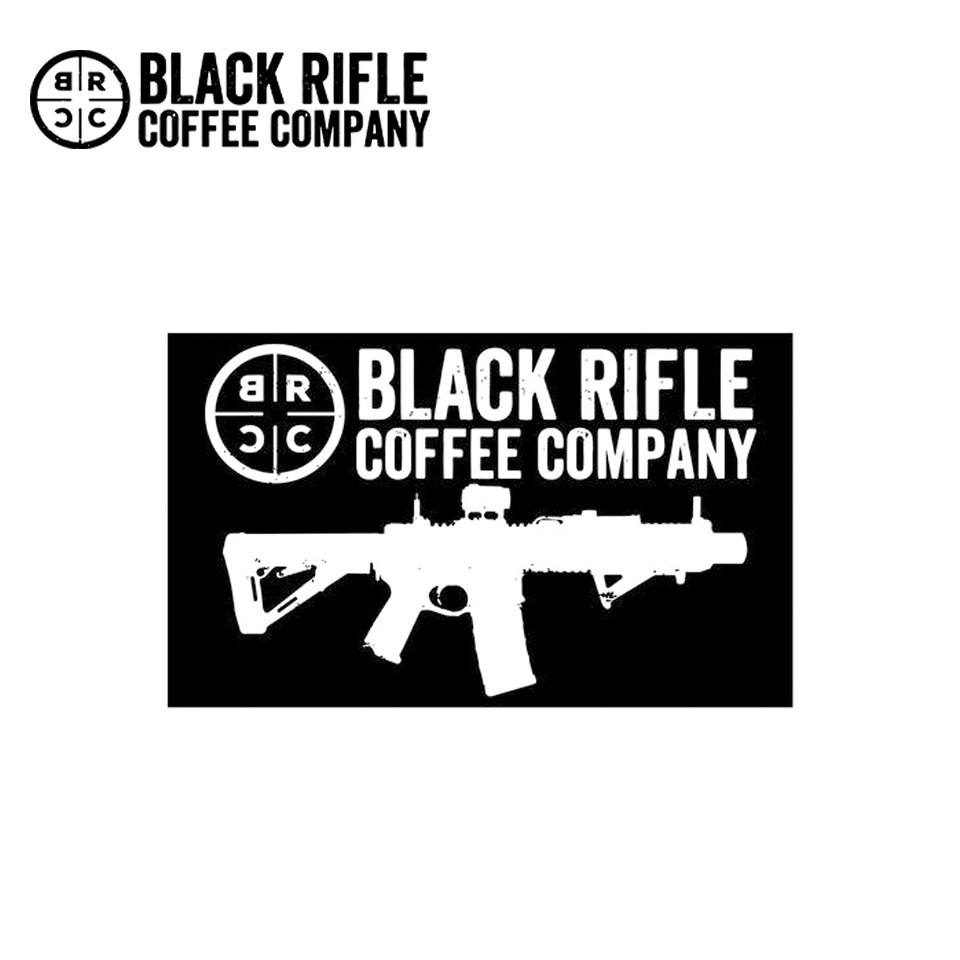 "BRCC LOGO STICKER - 6"" X 4"""