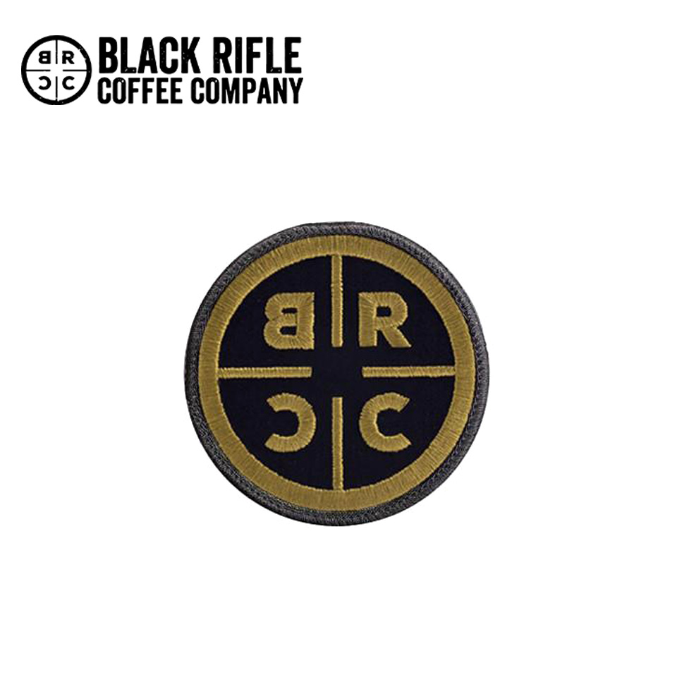 BRCC PATCHES GOLD ON BLACK