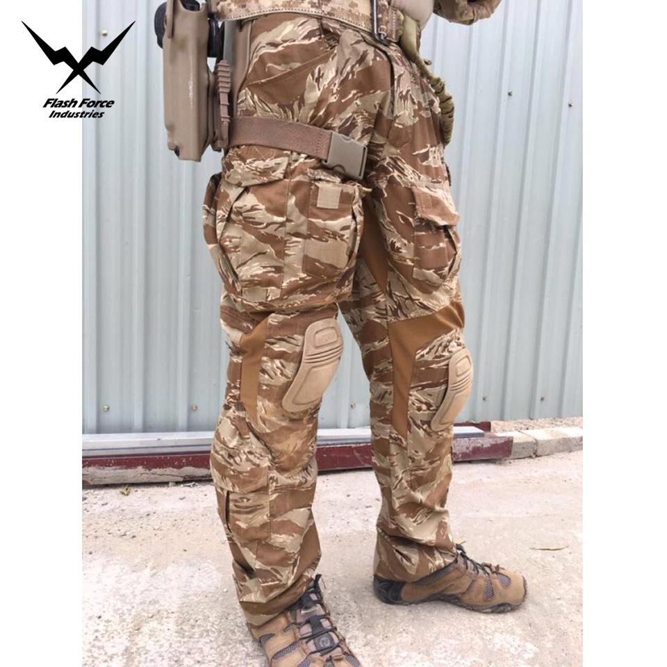 DesertTigerStripe G3 Combat Set w/Pads