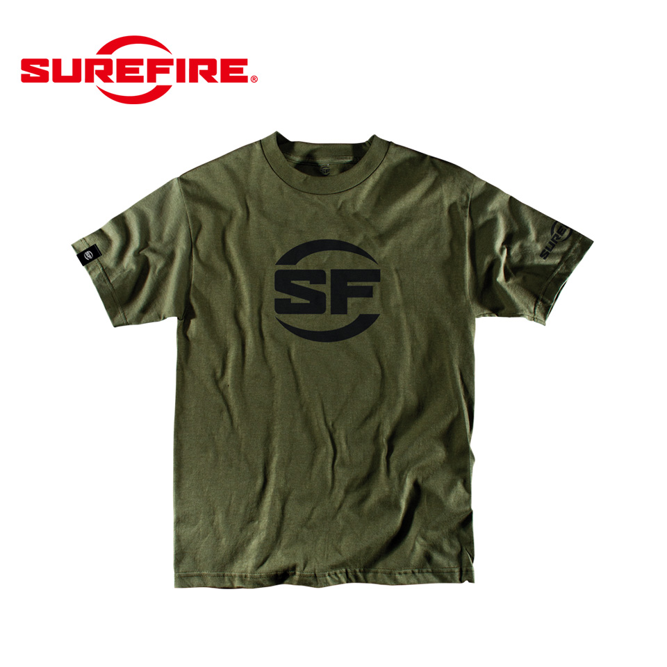 SUREFIRE BUTTON LOGO OLIVE DRAB XL
