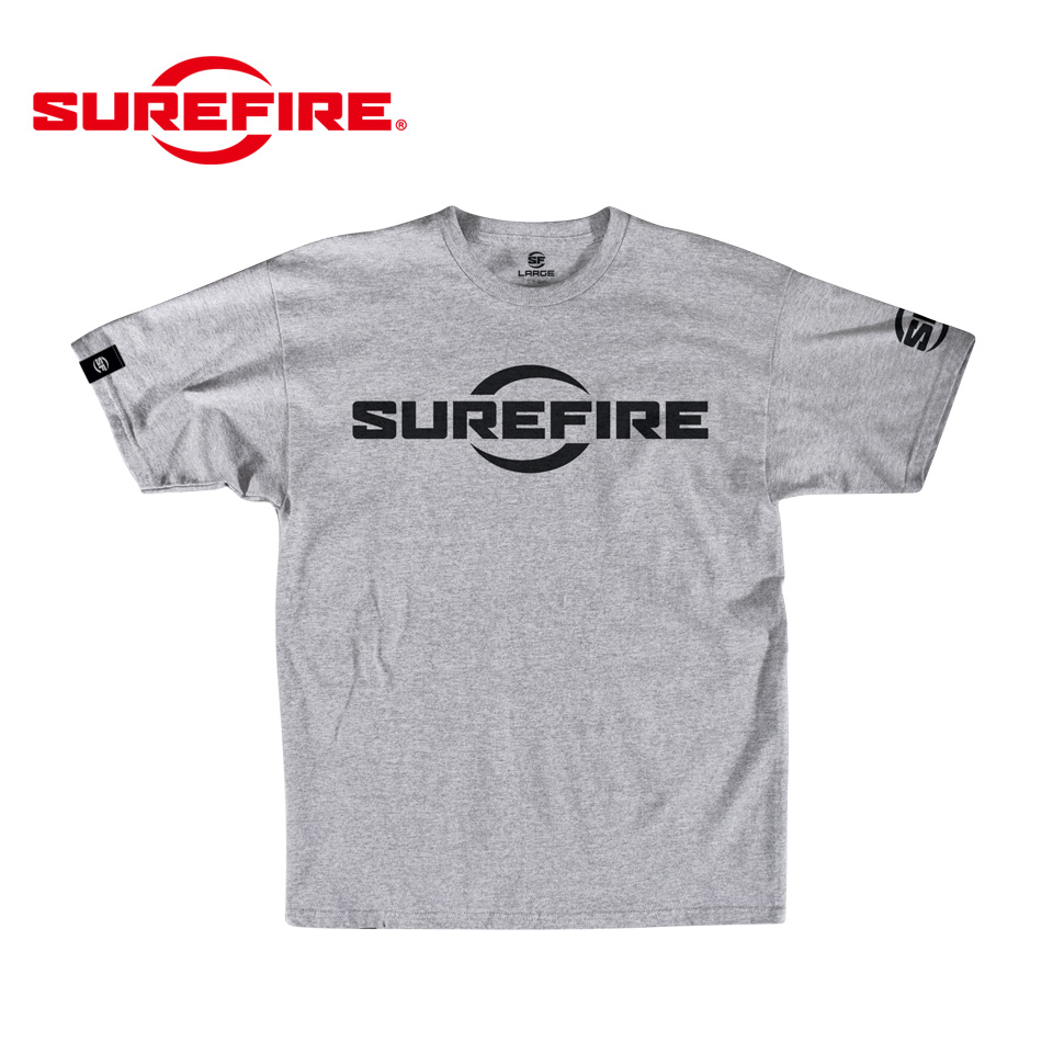 SUREFIRE LOGO ATHLETIC GRAY