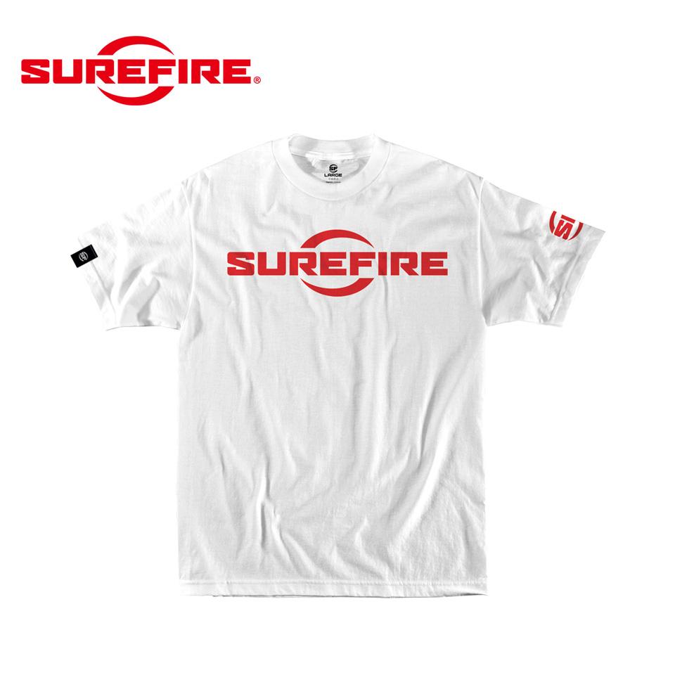 SUREFIRE LOGO WHITE XL