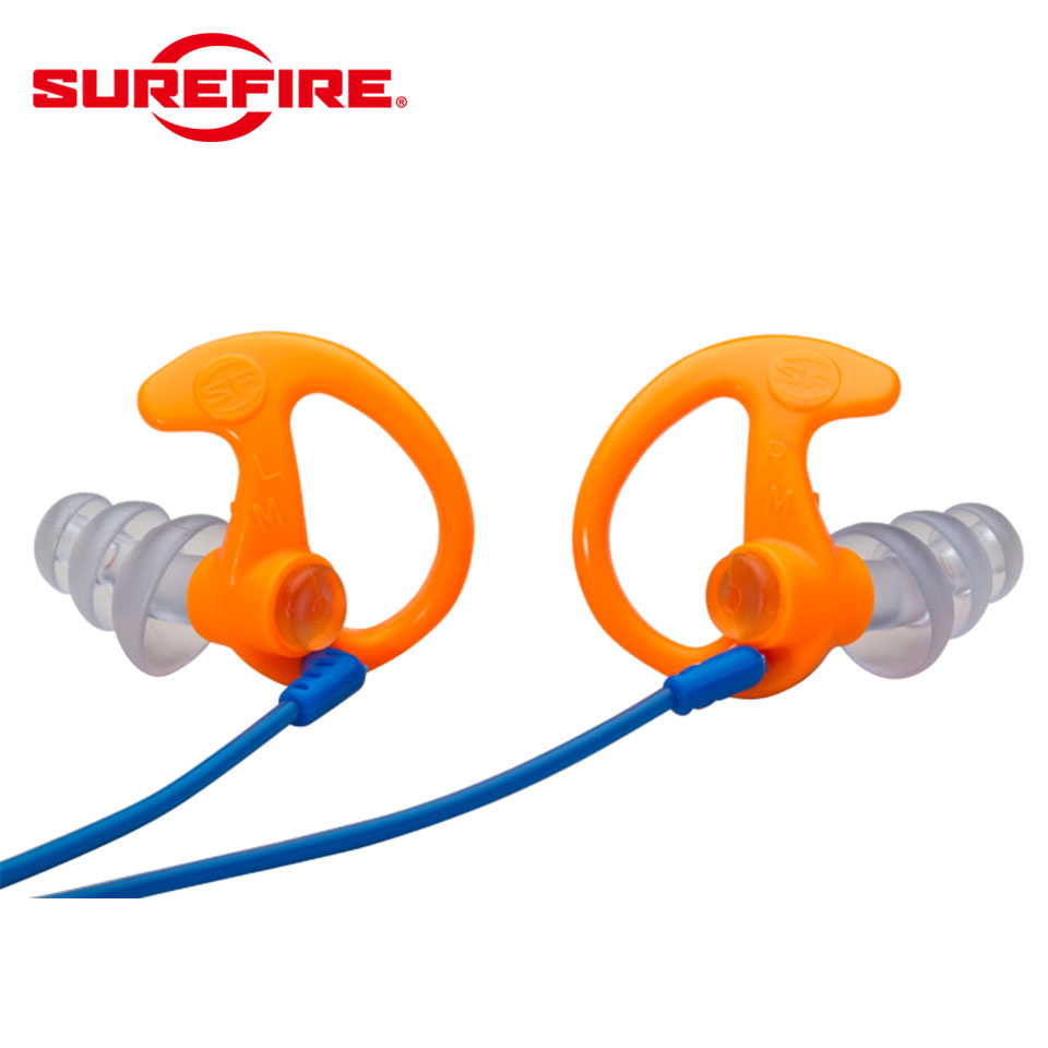 EP5 SONIC DEFENDERS MAX - Full-Block Flanged Earplugs