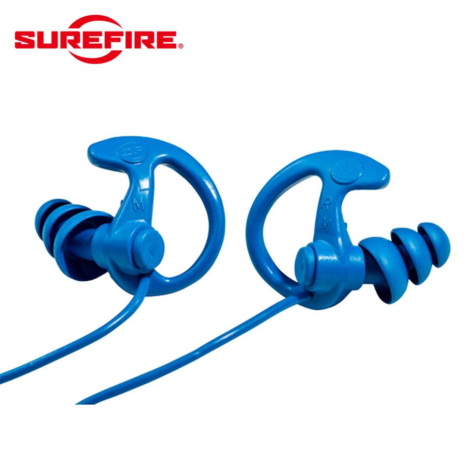 EP9 SONIC DEFENDERS - COBALT MAX Full-Block Flanged Earplugs