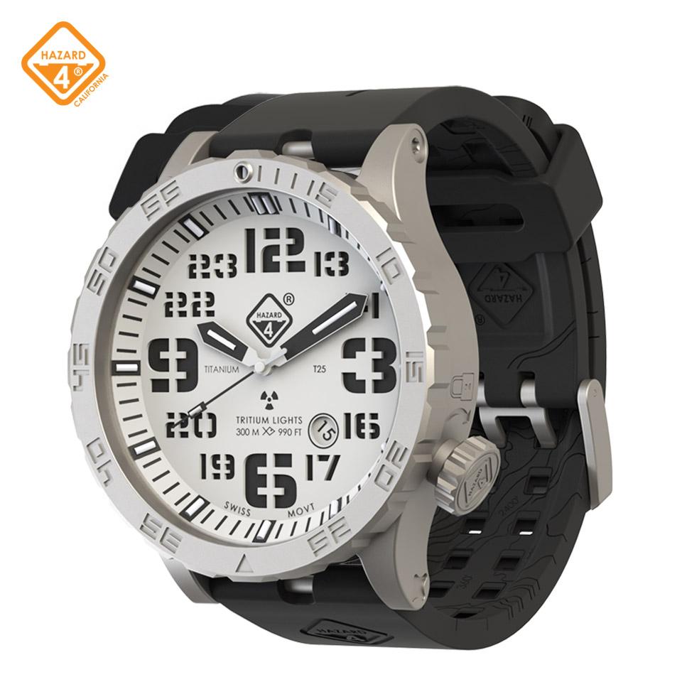 HWD SnowField - titanium tritium dive-watches