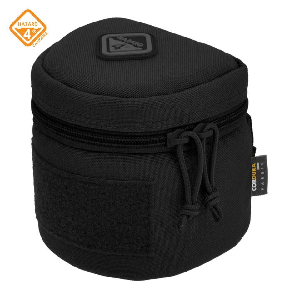 Jelly Roll (Medium) - medium padded molle lens case - Black