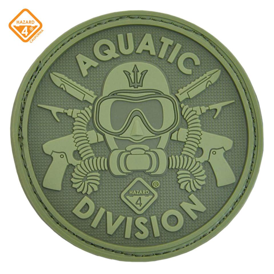 Aquatic Division Patch - rubber velcro patch