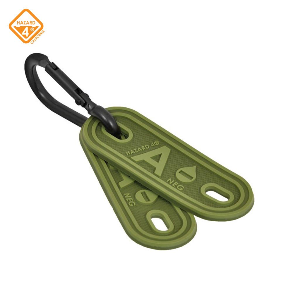 Blood Type Marker - OD Green - tactical multi-position marker 2-pack