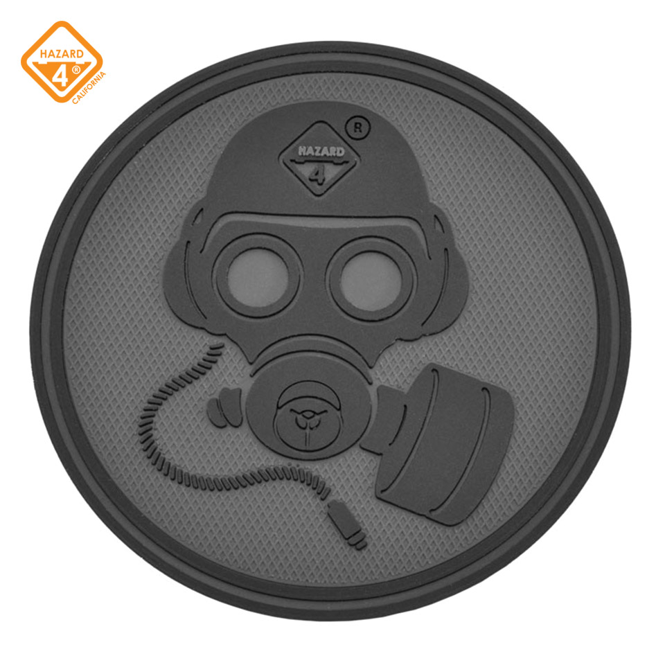Special Forces Gas Mask Patch - rubber velcro patch