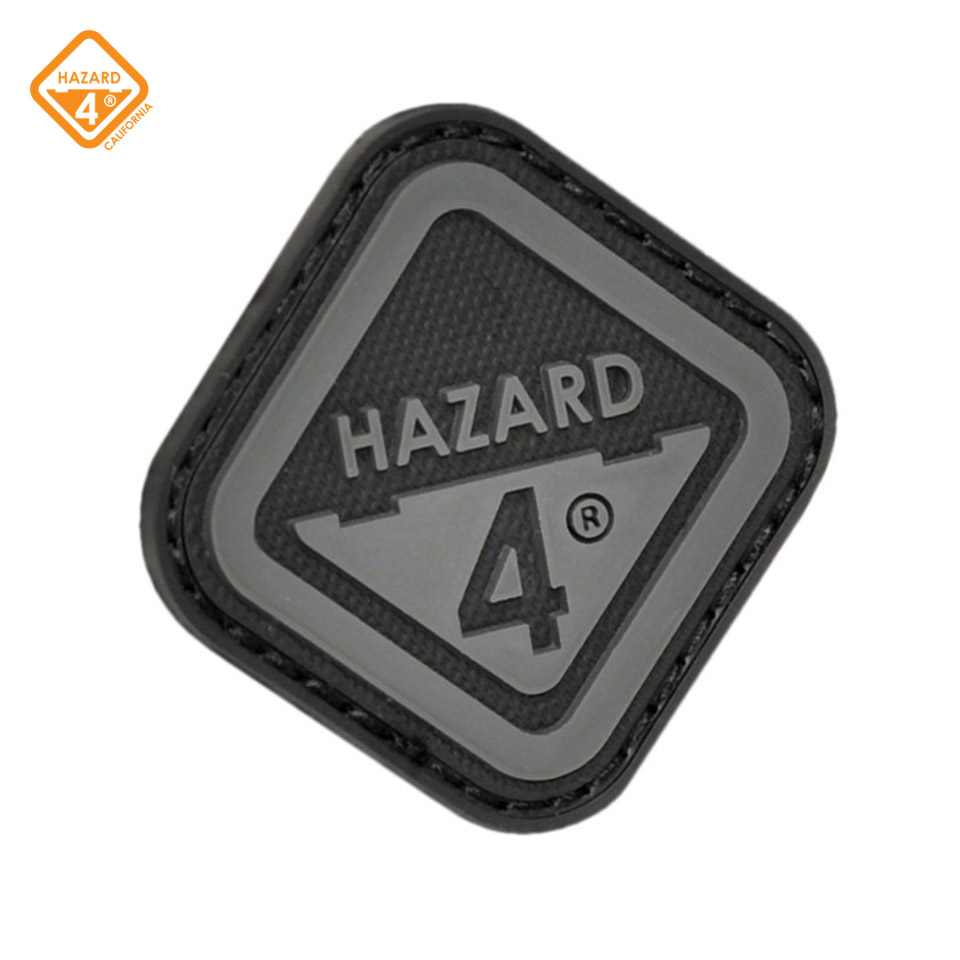 Morale Patch - Diamond Shaped - Velcro - Hazard 4 Logo