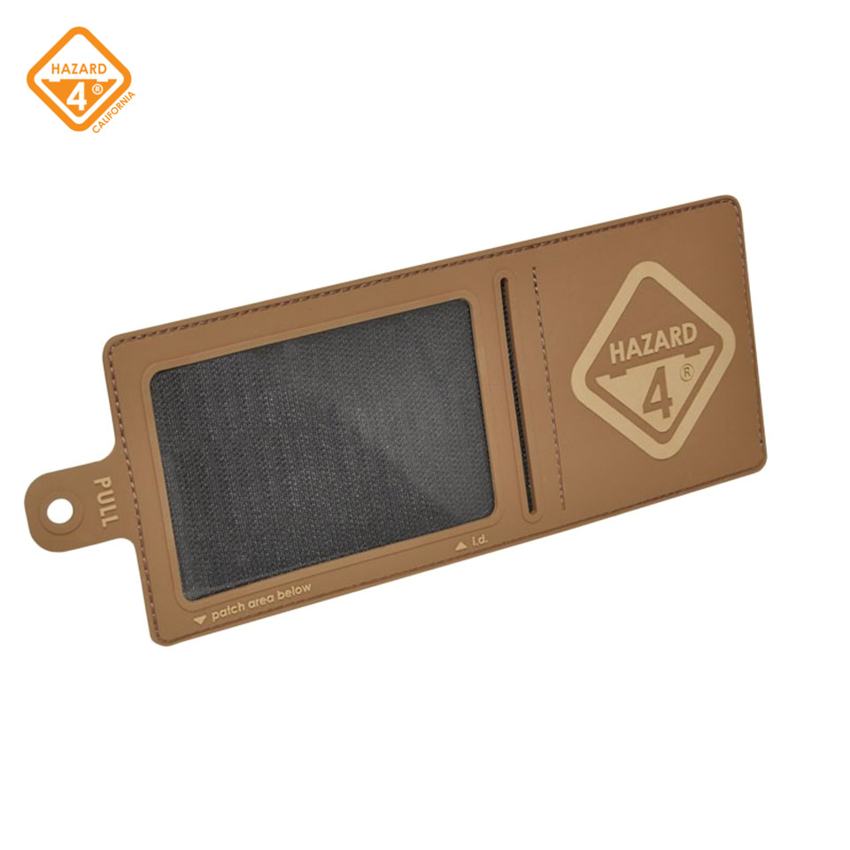 Hazard 4 ID-Window-Patch - rubber 3D velcro backed w/ h4 logo
