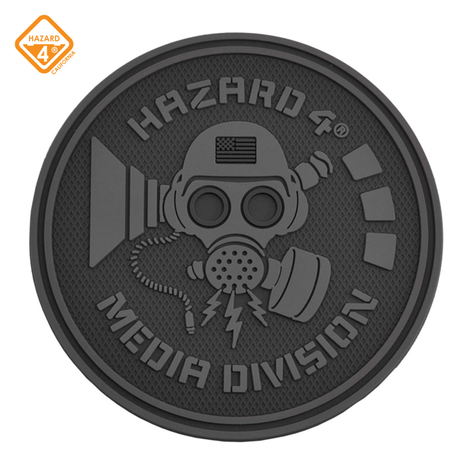 Media Division - rubber velcro patch